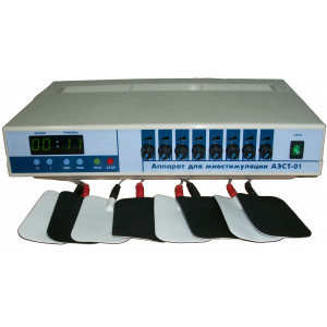 Аппарат миостимуляции тела АЭСТ-01 (8 каналов)
