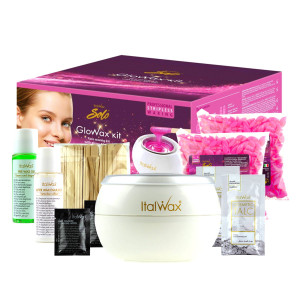 Набор для депиляции лица, подмышек и бикини Italwax Glowax Kit