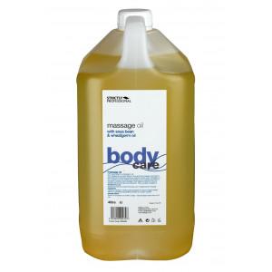 """Массажное масло из зародышей пшеницы с лавандой """"BODY"""" 4 литра, BELLITAS Англия"""