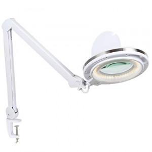 Лампа-лупа 6017-H LED 3D 12W регулировка яркости, тёплый/холодный свет